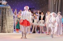 Show der Kinder Weihnachts Stockbild