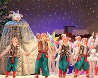 Show der Kinder Weihnachts Stockfotos