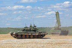 Show der militärischer Ausrüstung Stockfotos