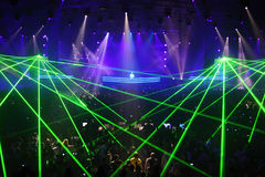 Show of DJ in world, Armin van Buren ARMIN ONLY Royalty Free Stock Photography