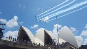 Show 2016 för Australien dagflygplan Fotografering för Bildbyråer
