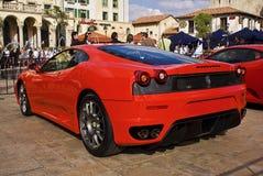 show för baksida för coupedagslut f430 ferrari Arkivbilder