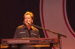 show för bandchicago rock royaltyfri bild