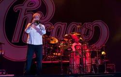 show för bandchicago rock Arkivbild