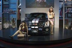 show för bangkok isuzumotor arkivfoton