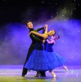 Show för internationell standarddans-universitetsområde Arkivbild