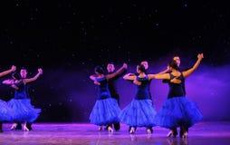 Show för internationell standarddans-universitetsområde Royaltyfria Foton