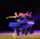 Show för internationell standarddans-universitetsområde Fotografering för Bildbyråer