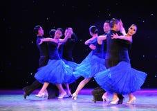 Show för internationell standarddans-universitetsområde Royaltyfri Bild