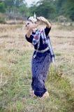 Show för stil för dans för folk för flickaphutai thai för fotograftagande Royaltyfri Bild
