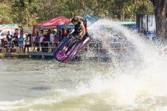 Show Freestyle the Jet Ski stunt action Stock Photography