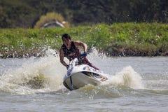 Show Freestyle the Jet Ski stunt action Stock Photos