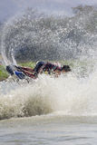 Show Freestyle the Jet Ski stunt action Stock Photo