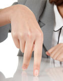 Show gesture Royalty Free Stock Image