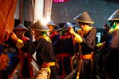 Show Hat Boi or Hat Bo, vietnam Royalty Free Stock Photo
