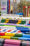 Show jump poles 9919 Stock Images