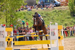 Show jumping competition Royalty Free Stock Images