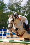 Show jumping competition Royalty Free Stock Image