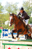Show jumping competition Stock Photography