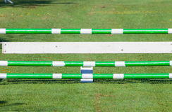 Show Jumping Gate Poles Royalty Free Stock Images