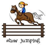 A show jumping Stock Photos