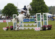Show jumping at Royal Bath and West show Stock Images