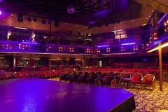 Show lounge in Thomson Celebration cruise ship Stock Images
