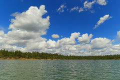 Show Low lake Arizona Royalty Free Stock Photo
