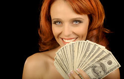 Show me The money Stock Photography
