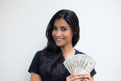 Show me the money Stock Images
