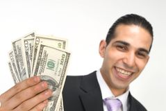 Free Show Me The Money Royalty Free Stock Photography - 866127