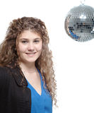 Show me your moves - disco style Royalty Free Stock Image