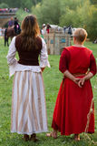 Show Medieval Tournament with Horses Stock Photography