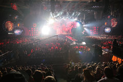 Show in nightclub Stock Photo