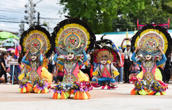 Show off dance from Philippines royalty free stock photo