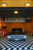 Show old vintage Chevrolet car at Night market, Srinakarin road, Bangkok, Thailand. Royalty Free Stock Images