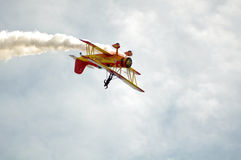 Show Plane At California Capital Airshow Royalty Free Stock Photos