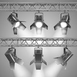 Show projectors Royalty Free Stock Photo