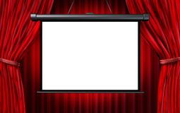Show Screen Royalty Free Stock Image