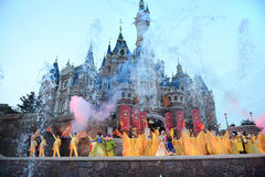 Show in Shanghai Disneyland Stock Photography