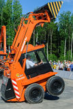 Show of skid loader Royalty Free Stock Images