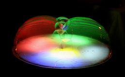 Show of soap bubbles. The image of an element of show of soap bubbles Stock Photos