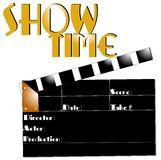 Show time concept Royalty Free Stock Photo