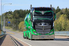 Show Truck Mercedes-Benz Actros 2551  Highway Hero Royalty Free Stock Photography