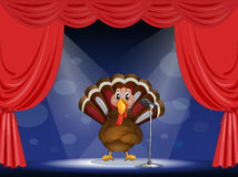 A show with a turkey Royalty Free Stock Images