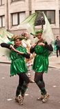 Two dancers Part of the Lord Mayor's Show
