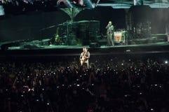 show u2 för 360 brazil arkivfoto