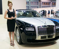 show van de Motor van 33ste Bangkok de Internationale 2012 Royalty-vrije Stock Foto