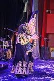 Show Venetian carnival magician illusionist Raman Soup  Borsch . Stock Photos