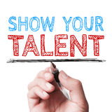 Show your talent Stock Image